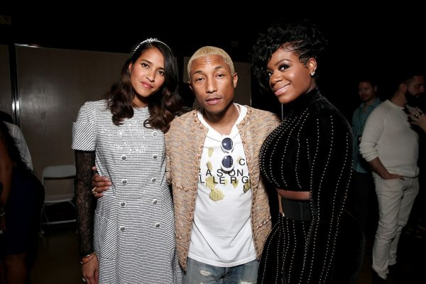 Pharrell & Helen - The 58th GRAMMY Awards - Los Angeles - 15 février 2016
