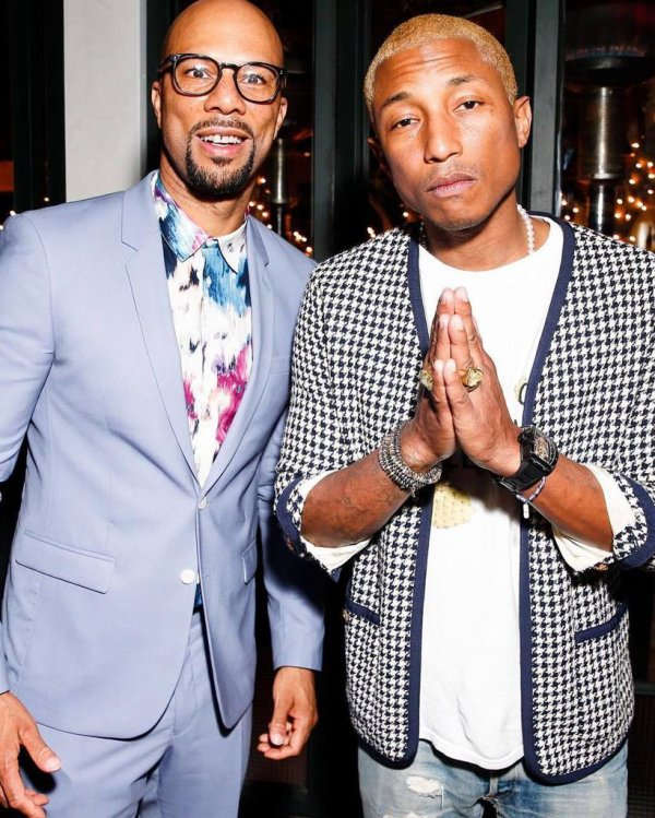 Pharrell & Helen - 2nd Annual Toast to The Arts - West Hollywood, CA - 26 février 2016
