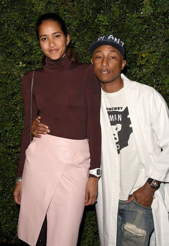 Pharrell - Charles Finch and Chanel Pre-Oscar Dinner - Beverly Hills? CA - 27 Février 2016