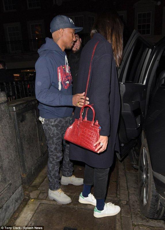Pharrell & Helen - Londres - 29 mars 2016