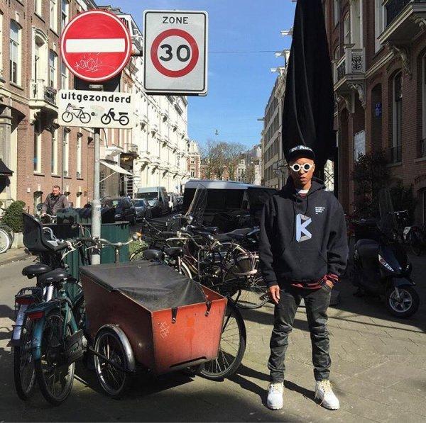 Pharrell - Amsterdam - 1er avril 2016