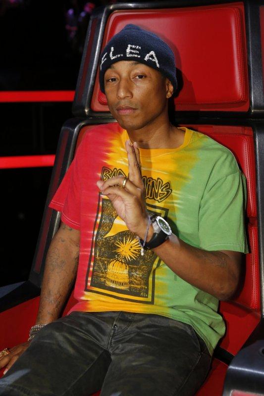Pharrell - The Voice Saison 10 Live - 25 et 26 avril 2016