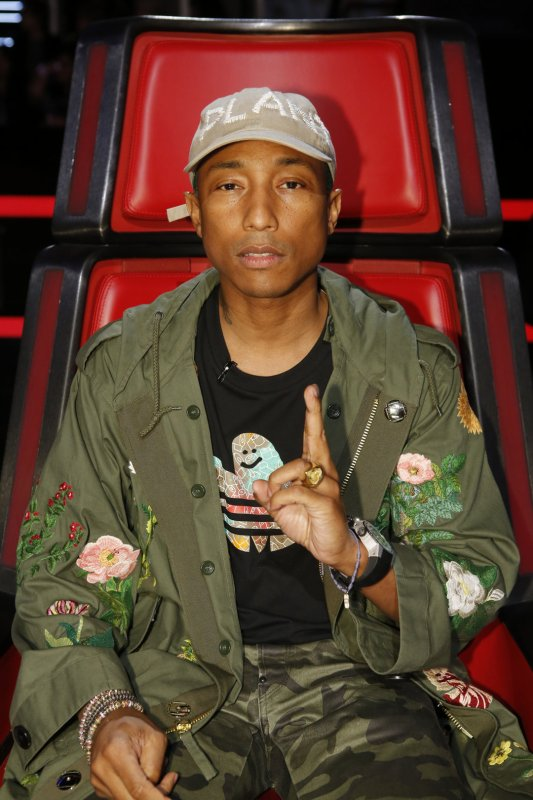 Pharrell - The Voice Saison 10 Live - 9 mai 2016