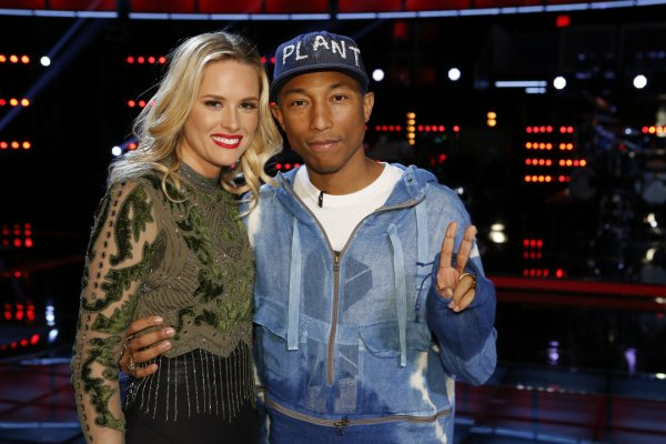 Pharrell - The Voice Saison 10 Live - 10 mai 2016