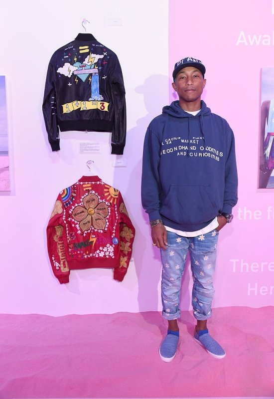 Adidas Originals = Pharrell Williams Pink Beach Collection - Los Angeles - 13 mai 2016