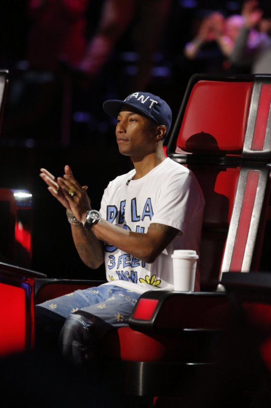 Pharrell - The Voice Saison 10 Live - 16 et 17 mai 2016