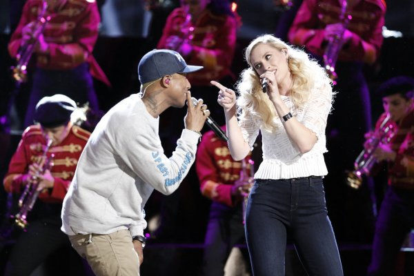Pharrell - The Voice Saison 10 Live - 23 mai 2016