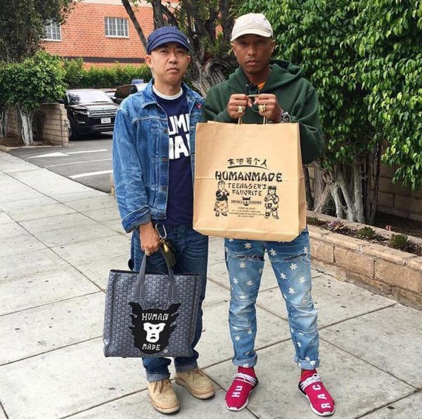 Pharrell & ... - Los Angeles - 25 mai 2016
