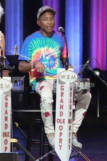 Pharrell - Grand Ole Opry - Nashville - 7 juin 2016
