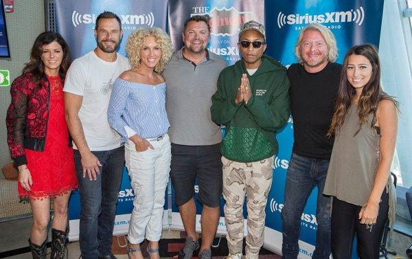 Pharrell & Little Big Town - Sirius XM Studios - Nashville - 8 juin 2016