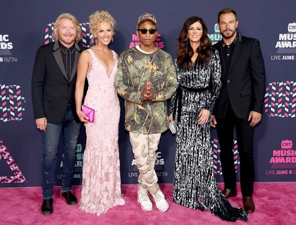 Pharrell & Little Big Town - 2016 CMT Music Awards - Nashville - 8 juin 2016