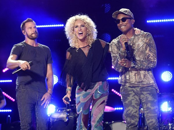 Pharrell & Little Big Town - CMA Music Festival - Nashville - 12 juin 2016