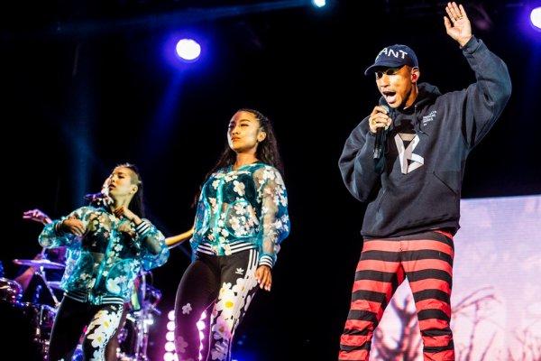 Pharrell - Open'er Festival - Pologne - 2 juillet 2016