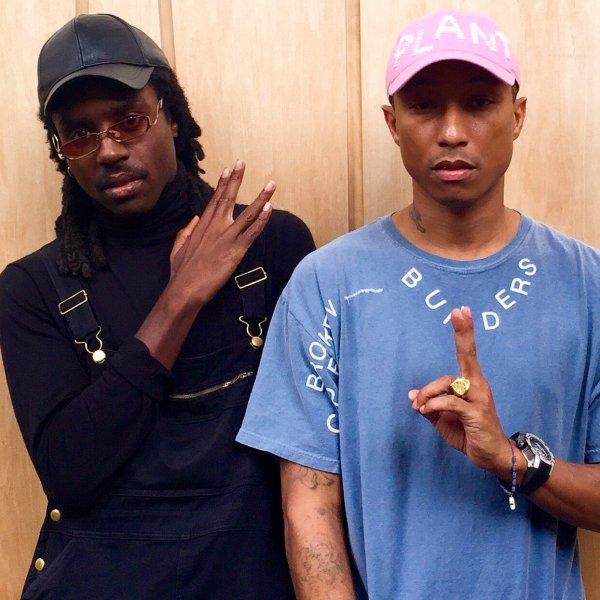 Pharrell & ... - Londres - 4 juillet 2016