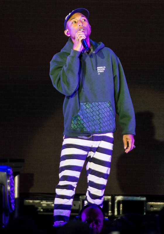 Pharrell - Tivoli Gardens - Copenhague, Danemark - 6 juillet 2016