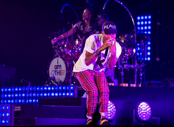 Pharrell - North Sea Jazz Festival - Rotterdam, Pays-Bas - 8 juillet 2016