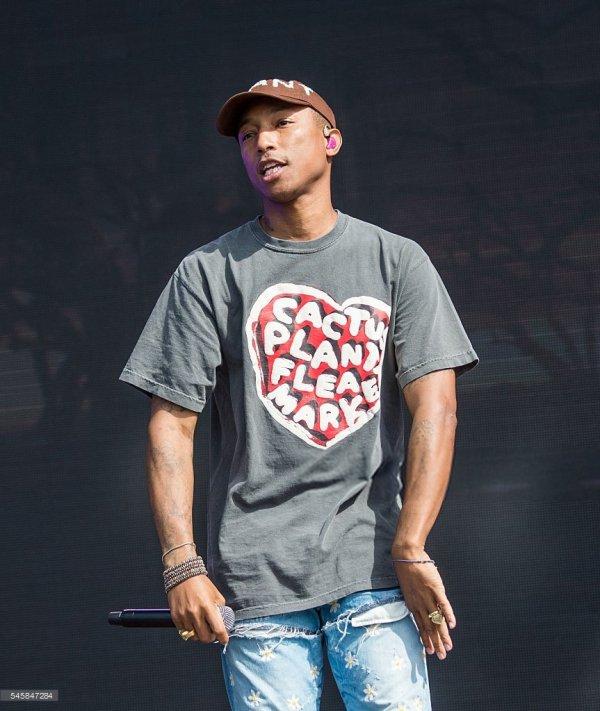 Pharrell - British SummerTime Hyde Park - Londres - 10 juillet 2016