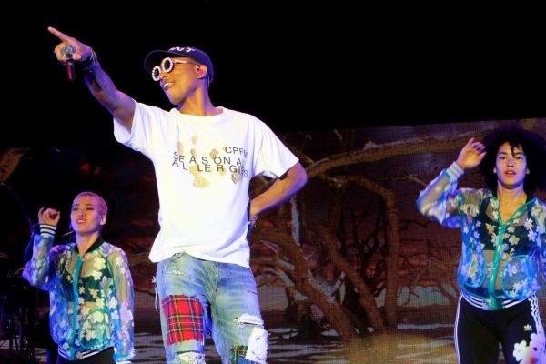 Pharrell - BIG Festival - Biarritz, France - 16 juillet 2016