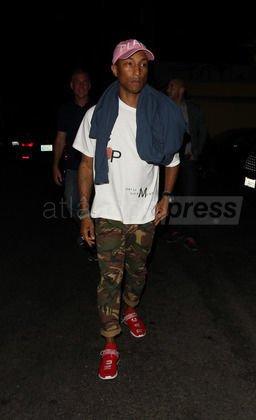Pharrell - West Hollywood - 20 juillet 2016