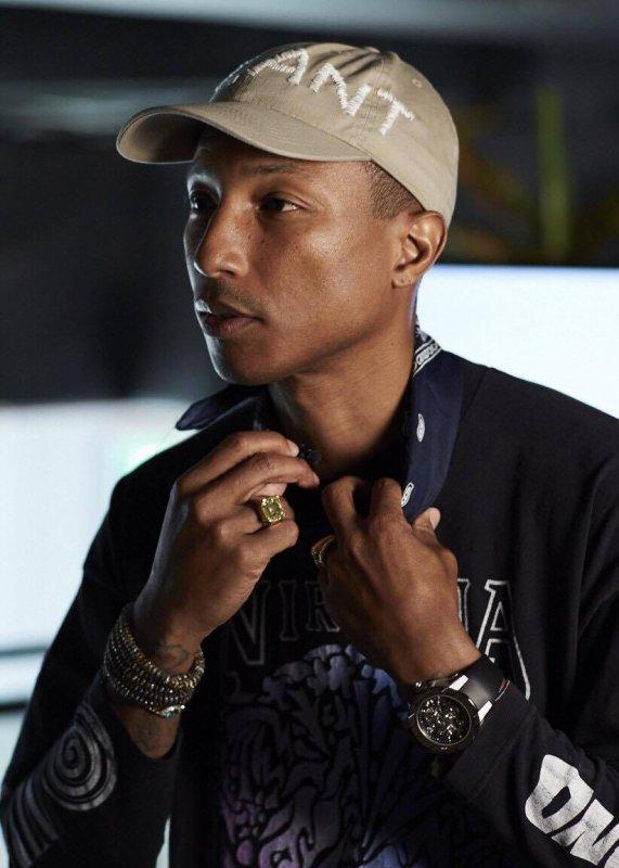 Pharrell - Bangkok - 29 août 2016