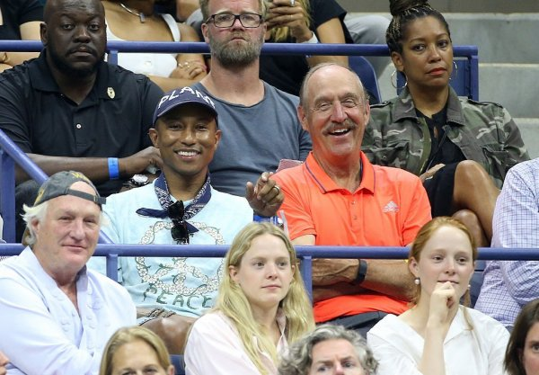 Pharrell - US Open - NYC - 7 septembre 2016