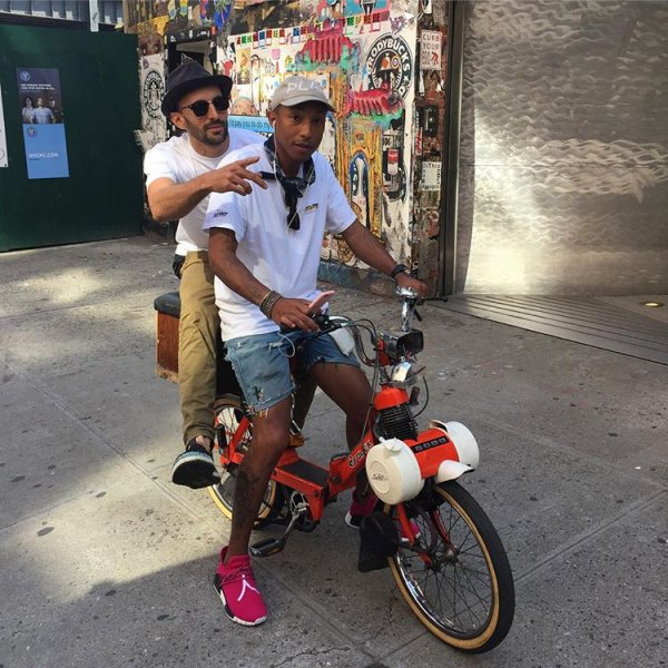 Pharrell - NYC - 8 septembre 2016