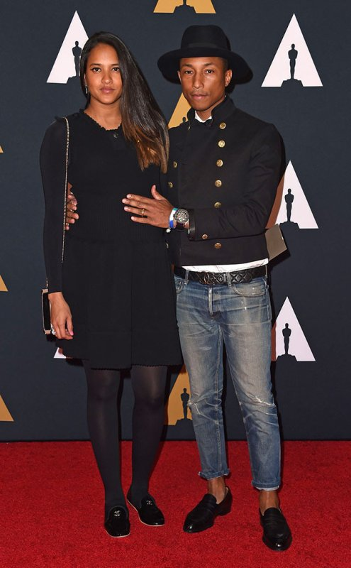Pharrell & Helen - The Academy's 8th Annual Governors Awards - LA - 12 novembre 2016