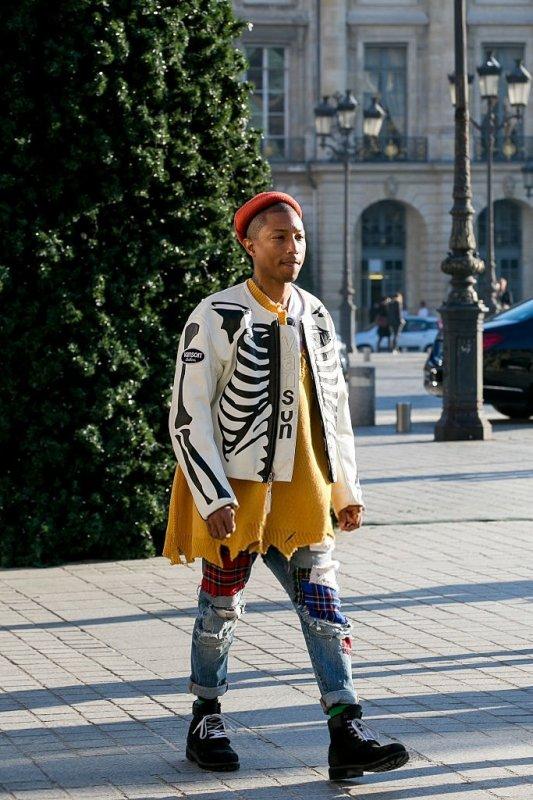 Pharrell - Place Vendôme, Paris - 5 décembre 2016