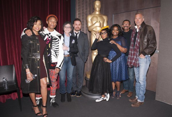 Pharrell - Projection Hidden Figures organisée par The Academy - NYC - 8 décembre 2016