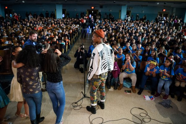 Pharrell - NYC - 9 décembre 2016