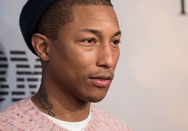 Pharrell - Première de Hidden Figures - New York - 10 décembre 2016