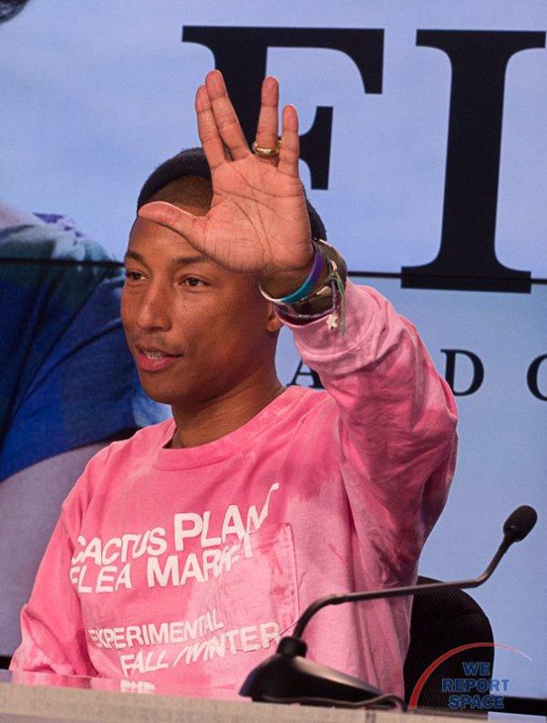 Pharrell - NASA - 12 décembre 2016