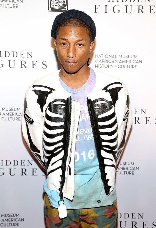Pharrell - Première de Hidden Figures - Washington DC - 14 décembre 2016