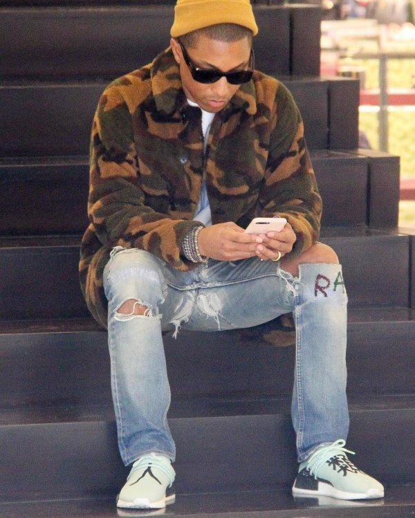 Pharrell - Beverly Hills - 21 décembre 2016