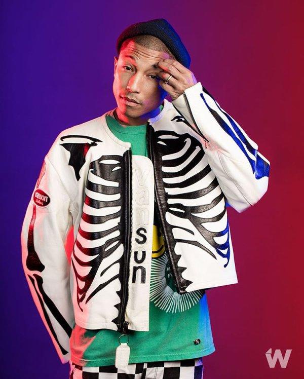 Pharrell par Corina Marie - Décembre 2016