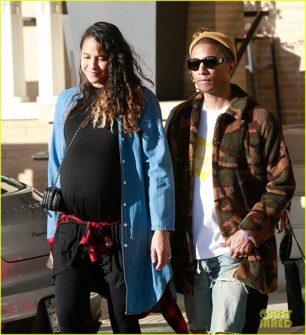 Pharrell & Helen - Beverly Hills - 22 décembre 2016