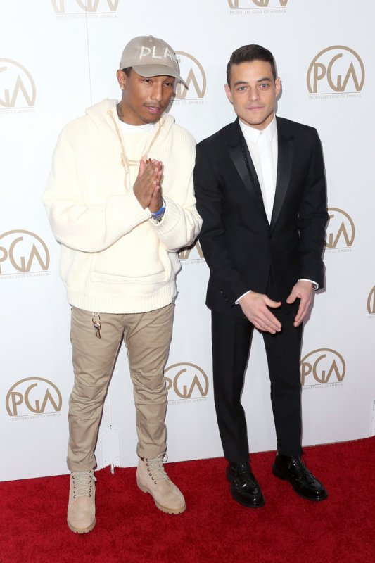 Pharrell - Producers Guild Awards - 28 janvier 2017