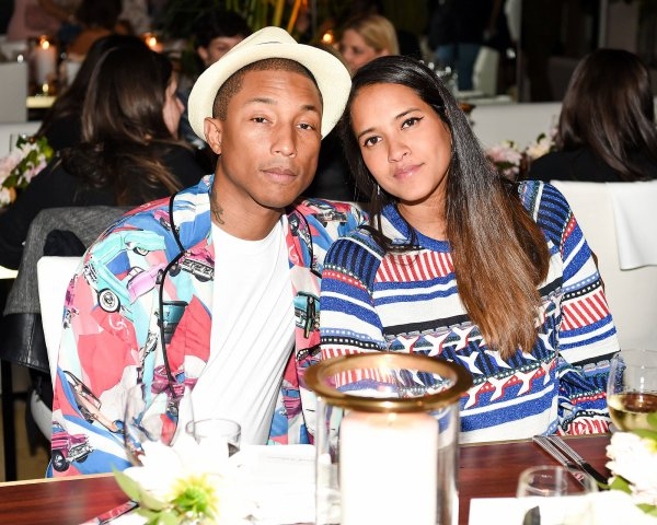 Félicitations Pharrell & Helen !