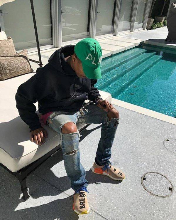 Pharrell - 9 février 2017