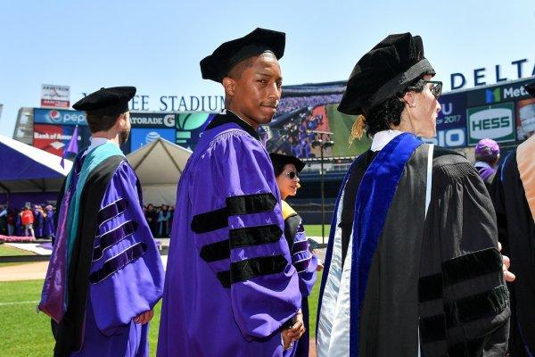 Pharrell - NYU - 17 mai 2017