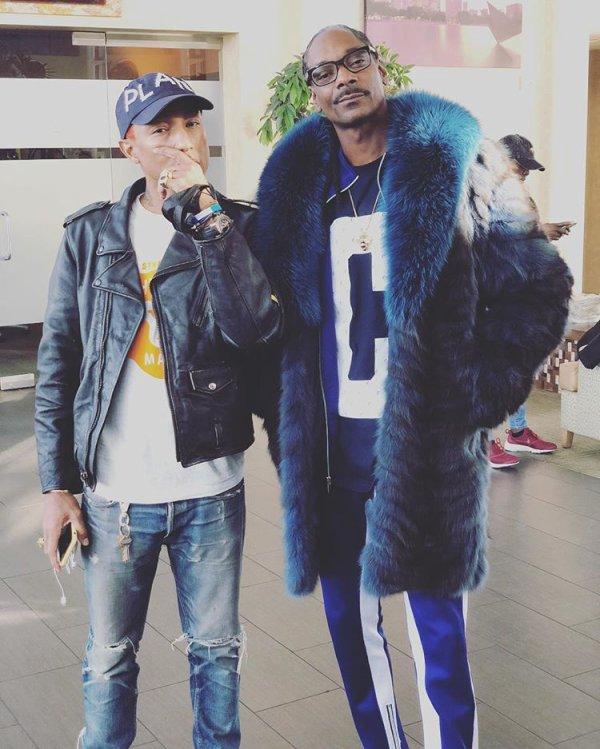 Pharrell & Snoop Dogg - Décembre 2017