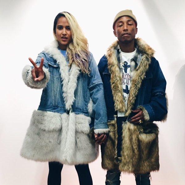 Pharrell & Helen - @ Sacai