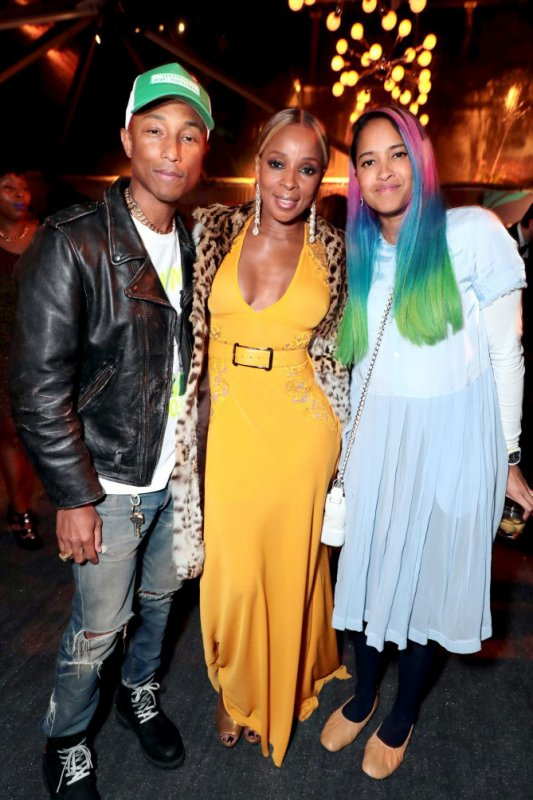 Pharrell & Helen - Toast Netflix - Los Angeles - 20 janvier 2018