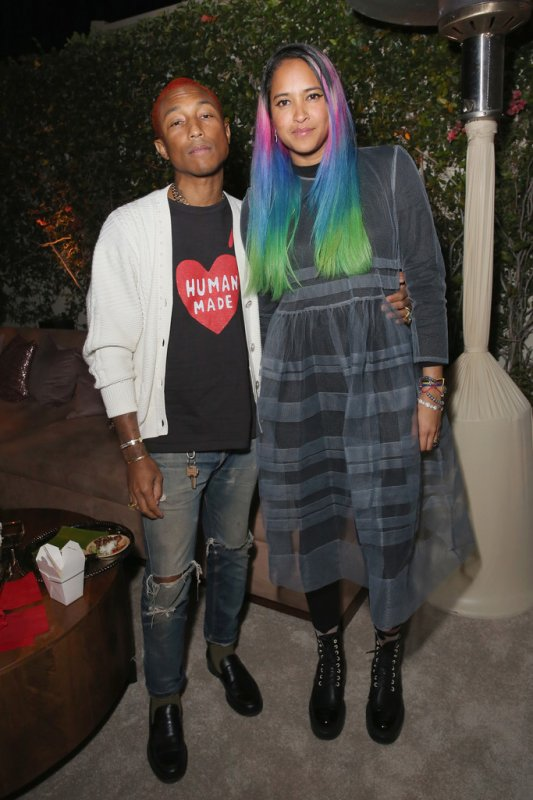 Pharrell & Helen - After party des SAG Awards organisée par Netflix - 21 janvier 2018