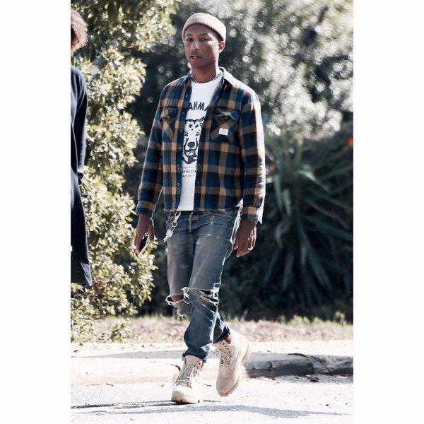 Pharrell - Malibu - Février 2018