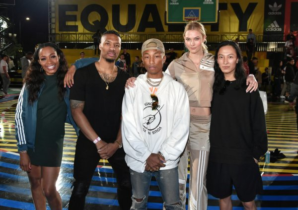 Pharrell - Adidas 747 Warehouse Event - Los Angeles - 17 février 2018