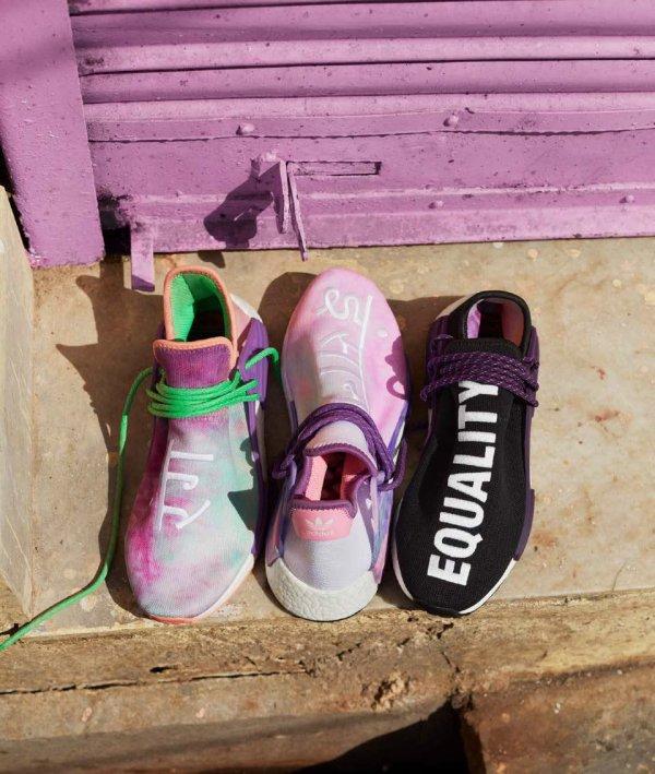 Adidas x Pharrell Hu Holi