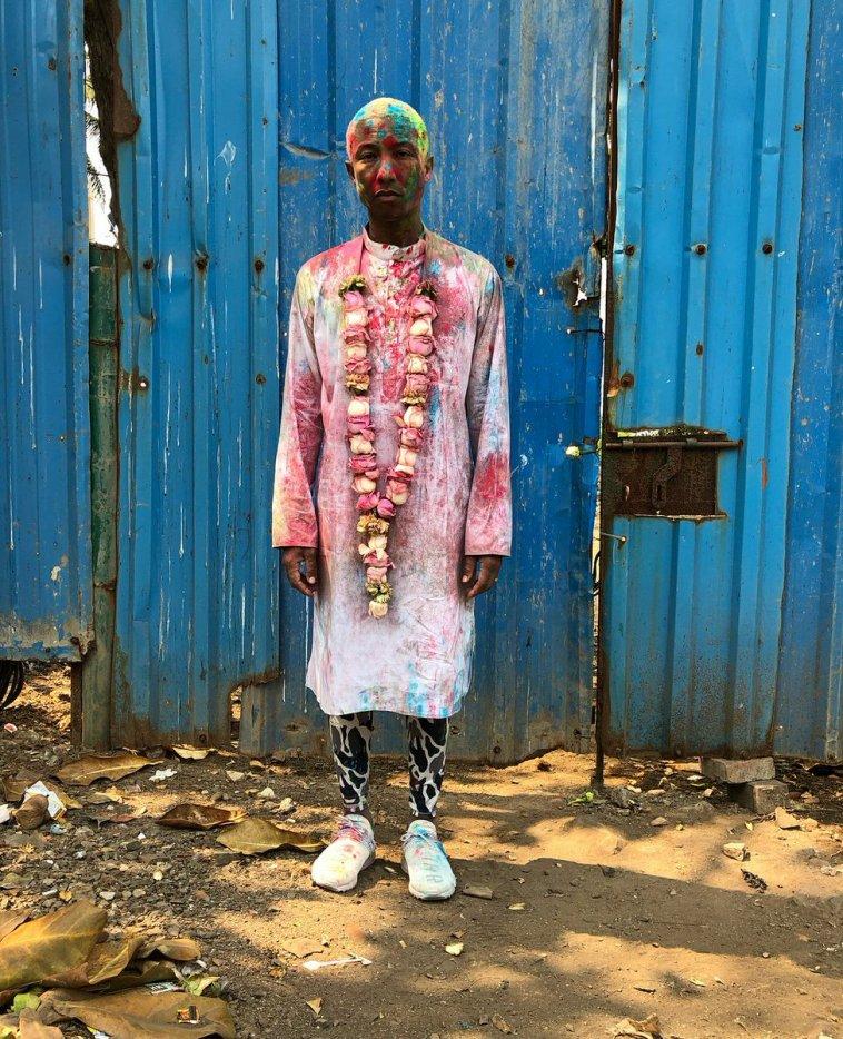 Pharrell - Holi Festival - Mumbai, Inde - 2 mars 2018