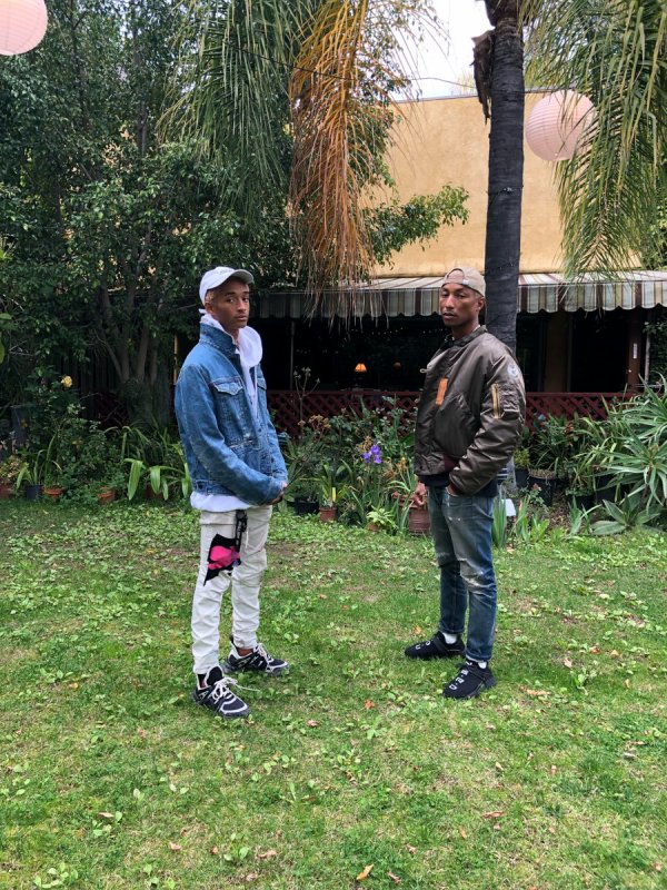 Pharrell & Jaden Smith - Mars 2018