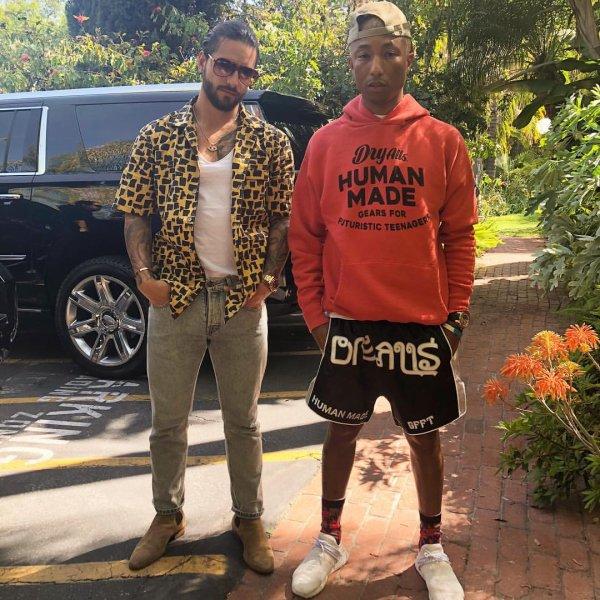 Pharrell - 11 avril 2018